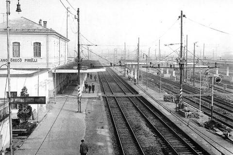 Stazione di Milano Greco Pirelli