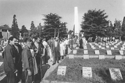 Campo della Gloria al Cimitero Maggiore