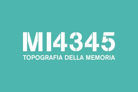 MI4345 - Topografia della Memoria